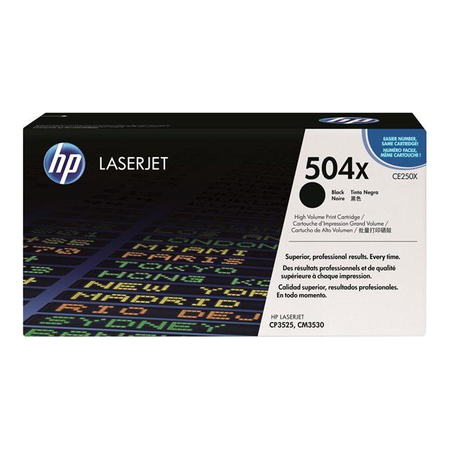 Картридж HP CE250X 504X